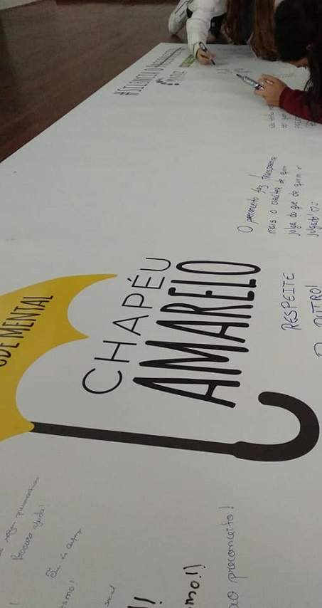 Chapéu Amarelo - Vamos falar sobre Saúde Mental